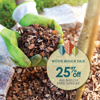 thumbnail image for blog post: Mulch Sale Through May 3!