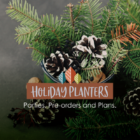thumbnail image for blog post: Holiday Planter Parties!